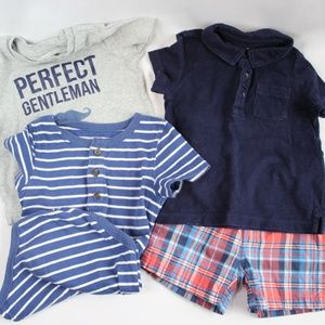 Other - Lot of Baby Boy Summer Clothes Carters Baby Gap